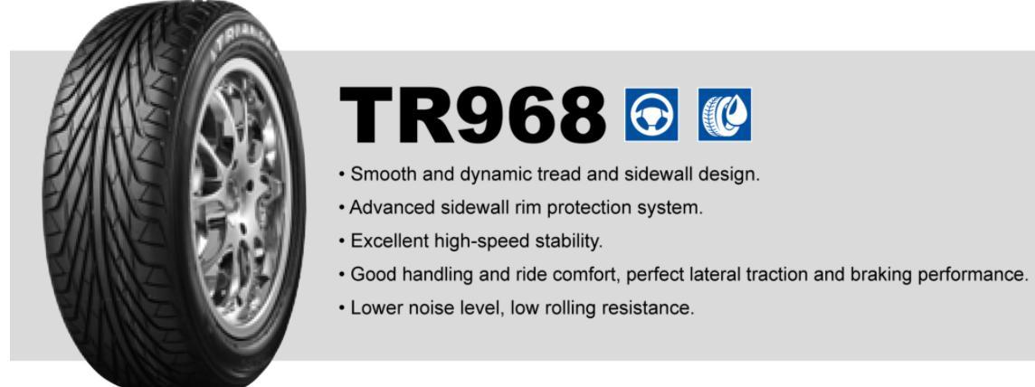激安アジアンタイヤのTRIANGLE(トライアングル) TR968の評判を分析